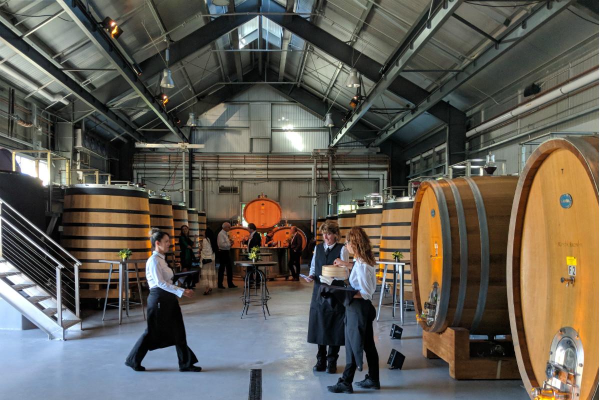 Kosta Browne Winery Barrels